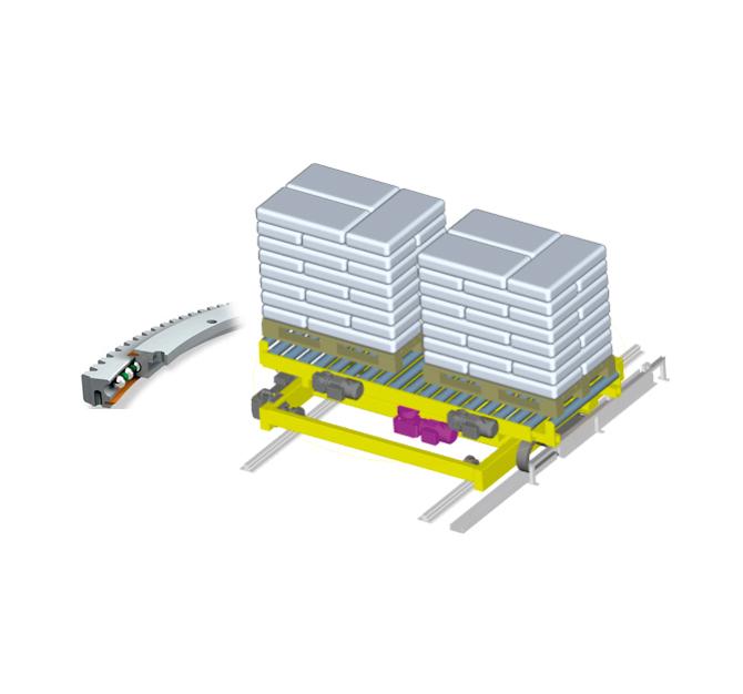 Verfahr-Drehstation DVDS-1700